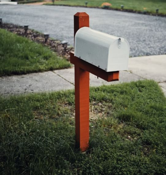 A typical mailbox